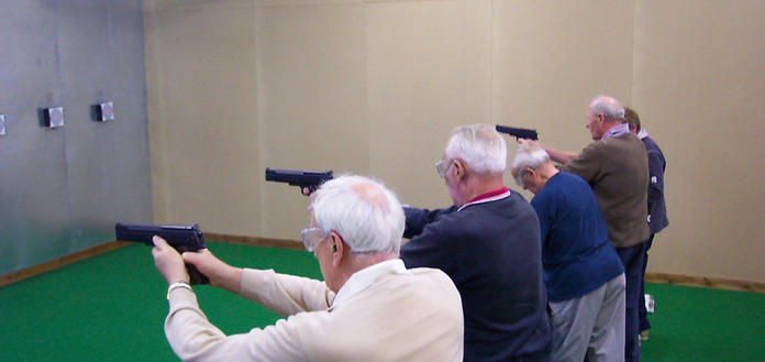 5 Indoor Ranges including Air Pistols